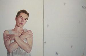 Diane Marsh, The Ending of Sorrow, oil on linen, 1994
