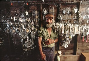 Richard Greenhill, Blagdon Emery Blagdon and his Healing Machine, photograph