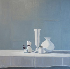 Carol Thompson, White-Still-Life