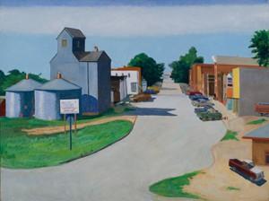 Myron R. Heise, Main Street, Bancroft, NE
