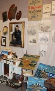 Grant Reynard's Studio, exhibition photo