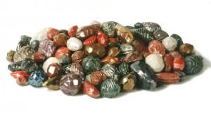 Eddie Dominguez, Diane's Gems, low fired ceramics, lusters, 2003