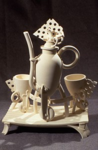 Jake Jacobson, Tea Set, 1990
