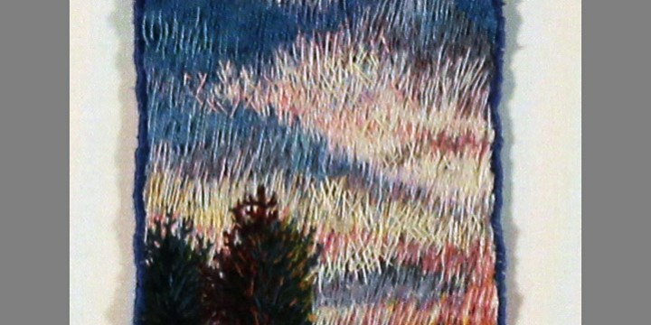 Roberta Barnes, Higher Existence, thread painting