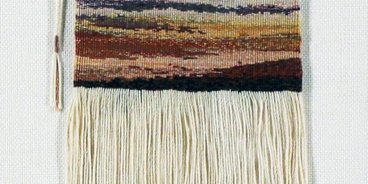 Roberta Barnes, Sentimental Journey, Swedish knot tapestry