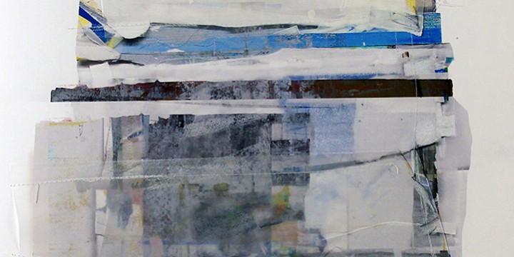Tom Prinz, PRV 15 (Platte River Valley Series), mixed media on paper