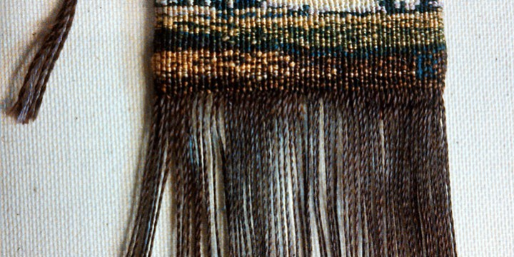 Roberta Barnes, Daybreak, Swedish knot tapestry