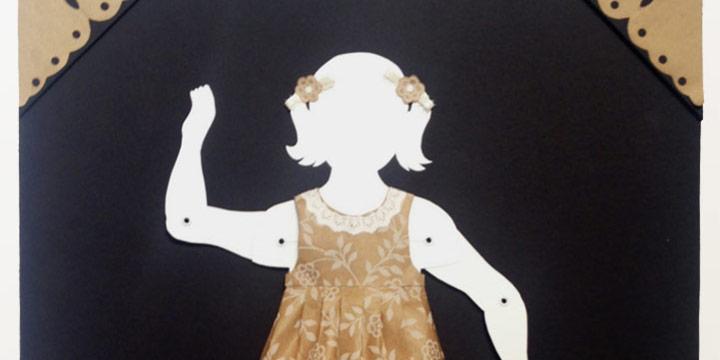 Linda Garcia, Paper People 4, paper