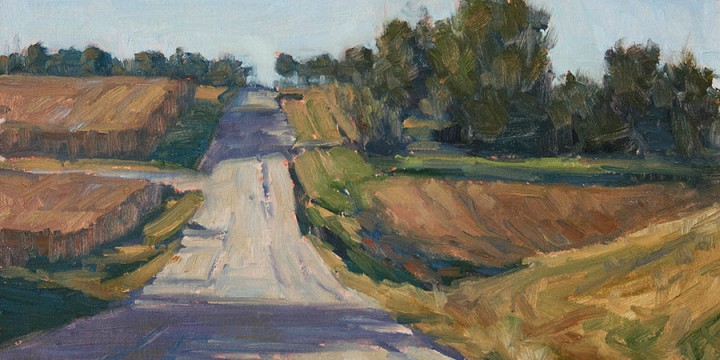 Debra Joy Groesser, Country Road, oil