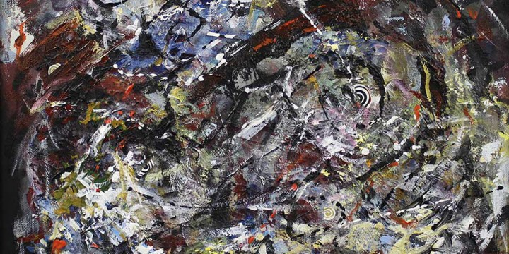 Mark Hartman, Tempest, acrylic