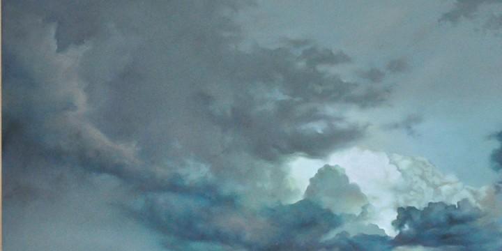 Jennifer Homan, Translucent Skies, pastel