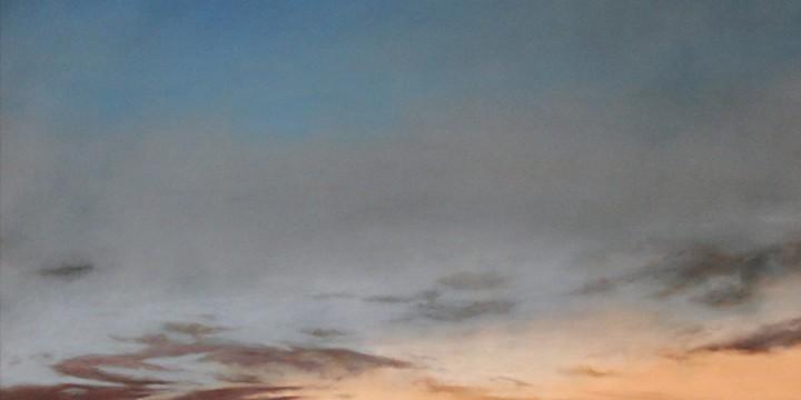 Jennifer Homan, Settling Skies 01/30/16, pastel