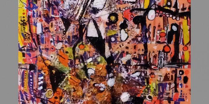 Jack Karraker, The Key, acrylic