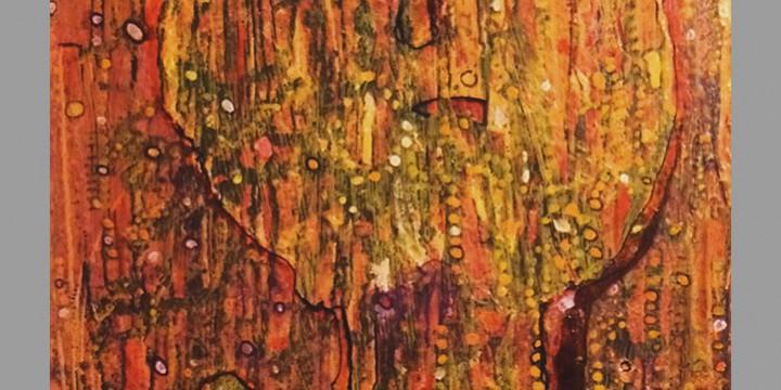 Jack Karracker, Child of Another God, acrylic