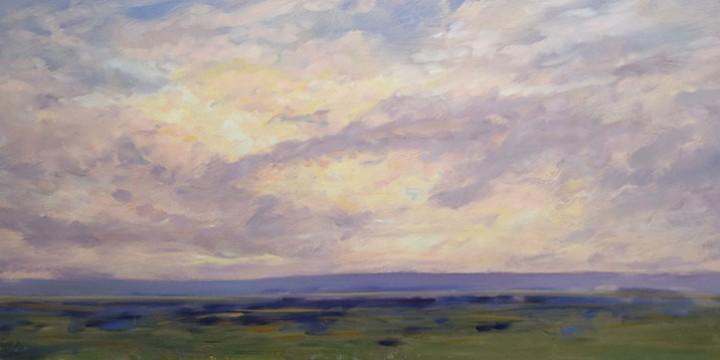 Ray Knaub, Nebraska Sandhills, Oil
