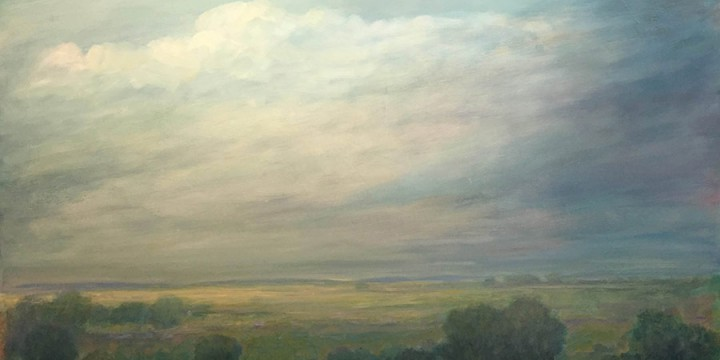 Keith Lowry, Late Summer Evening, oil