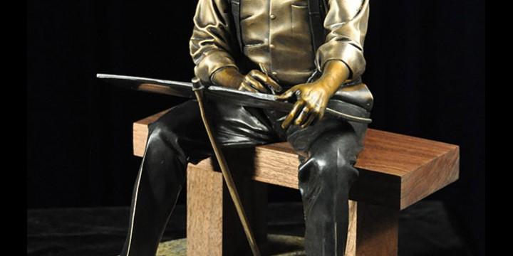 George Lundeen, Robert Frost, bronze