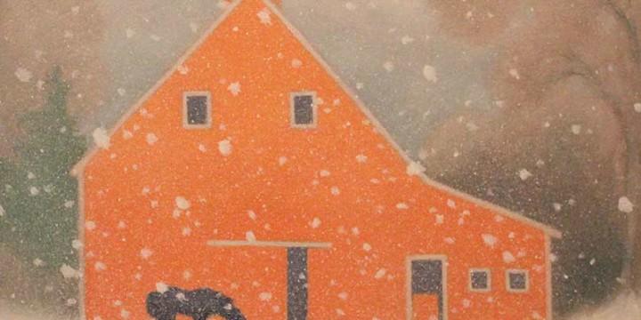 Martha Pettigrew, Gentle Snow, oil