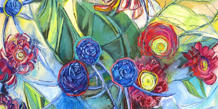 Kristin Pluhacek, Pom-dot Holiday, pastel