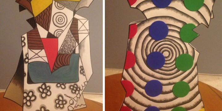 Anita Powell, Twister, clay, glaze, underglaze, paint