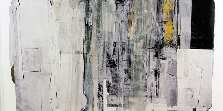 Tom Prinz, PRV 14 (Platte River Valley Series), mixed media on paper