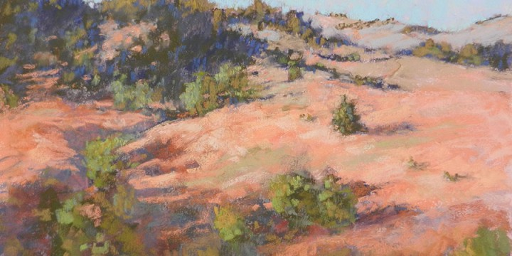 Patty Scarborough, Cherry County, pastel
