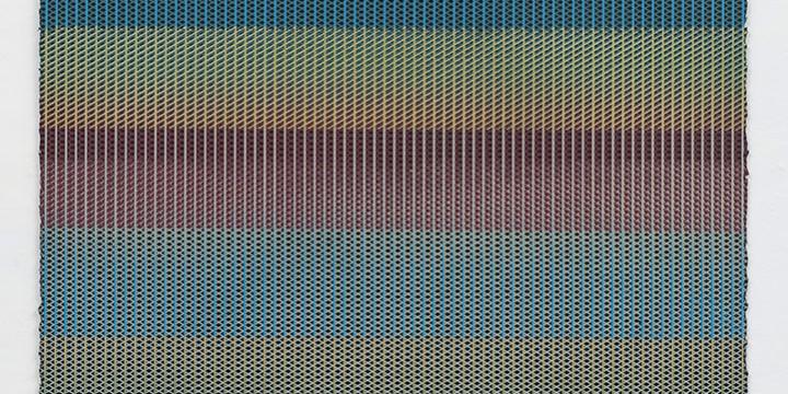 Larry Schulte, Web/Net/Veil #29, screenprint (unique image