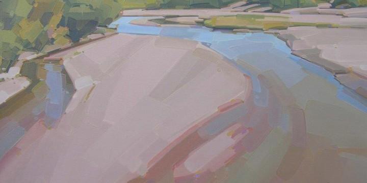Mick Shimonek, Summer Sand, oil