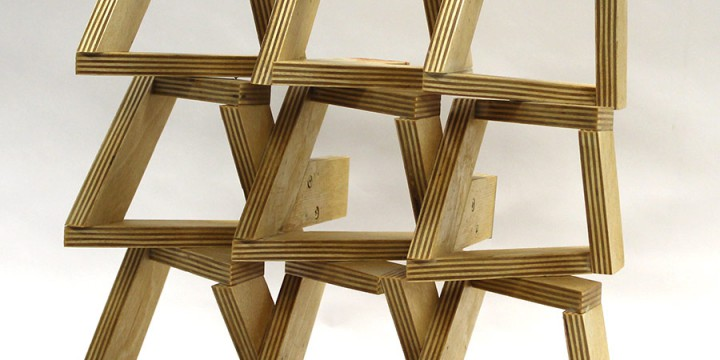 Ronald Watson, Idea of Order: Equation, Baltic birch plywood