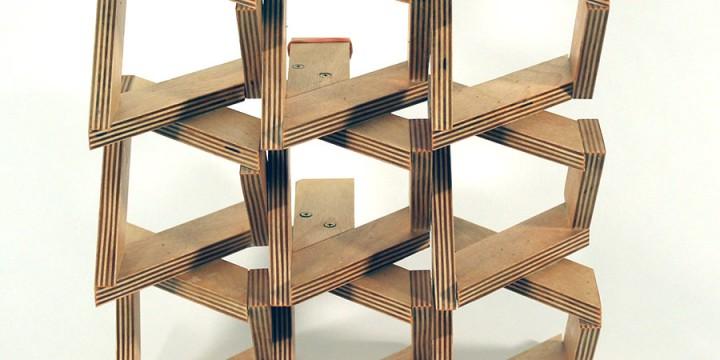 Ronald Watson, Idea of Order: Opposition, Baltic birch plywood
