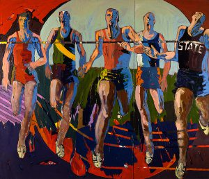 Dash, James Eisentrager, oil on canvas, 1966