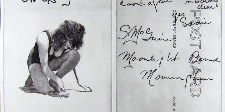 Thomas Colman, Postcard, intaglio
