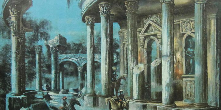 Terence R. Duren, Palladian Relic, oil on linen
