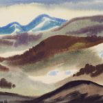 Myra Biggerstaff, Mountain Rhythm, watercolor, c. 1938