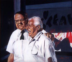 Zip - A -De - Do - Dah, Virginia Wattles, pastel, 1992