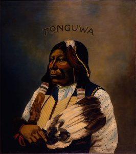 Frank Rinehart, Portrait of Grant Richards - Chief of the Tonguwa, oil, c. 1898–1900