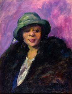 Augustus W. Dunbier, Edith, oil on canvas, 1921