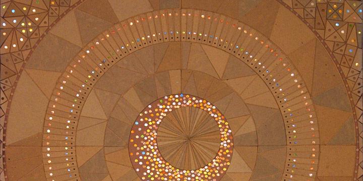 Elmer Holzrichter, Mystery Planet, collage, n.d.