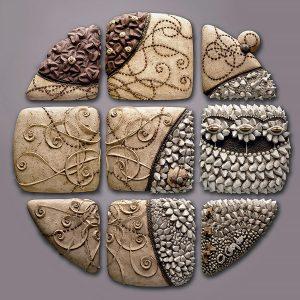 Christopher, Gryder, Lunar Reflect, ceramic, 2007