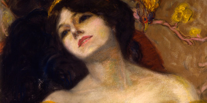 Grant Reynard, Romance #2, pastel, 1927