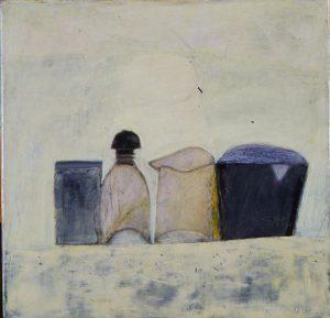Judith Burton, Chuck's Blue Hour, oil, n.d.