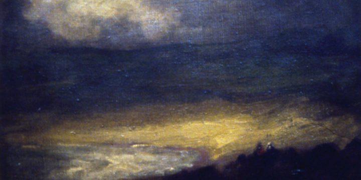 Robert Henri, Coast Scene, oil on linen, 1899,