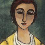 Freda Spaulding, Carlotta, oil on canvas, c. 1940s-1950s