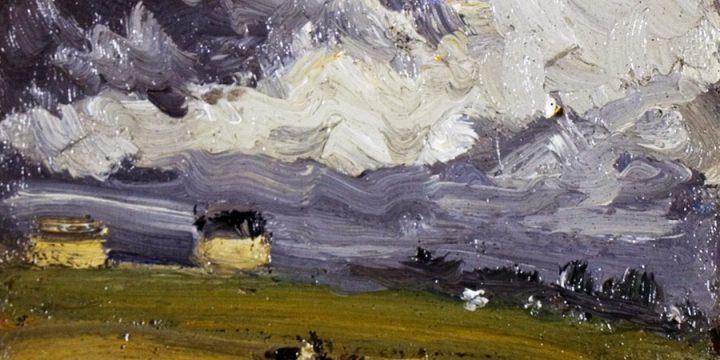 Robert Henri, Concarneau Beach, oil on linen, 1899