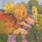 Robert F. Gilder, Untitled (landscape), oil, n.d.