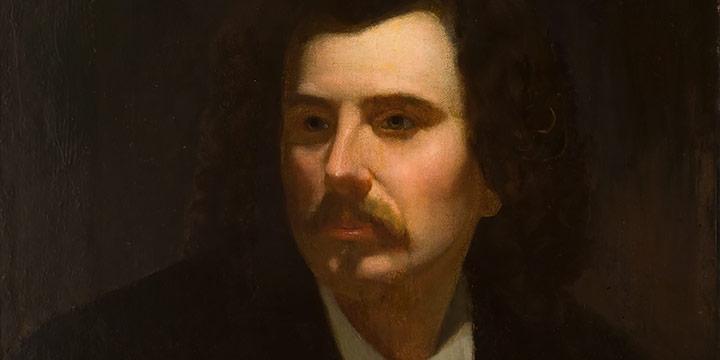 William Holbrook Beard, Self Portrait, oil
