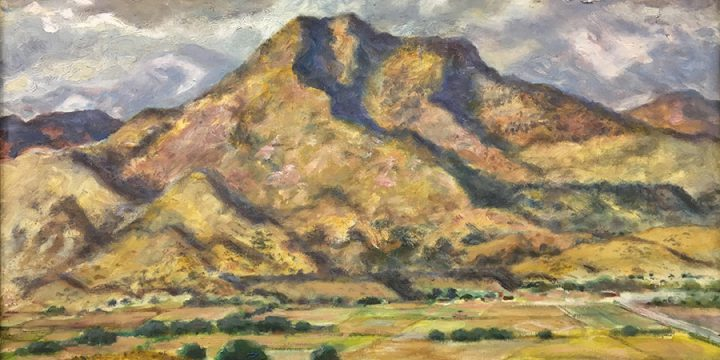 Grant Reynard, West of Denver, oil on canvas, n.d.