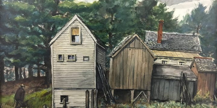 Grant Reynard, Jed's Place, watercolor, n.d.