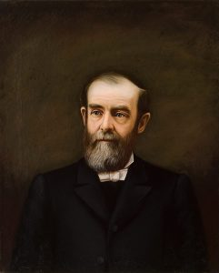 Frank Stadter (Boleslaus Horodynski), Rev. James Dinsmore Kerr , oil on canvas, c.1880s