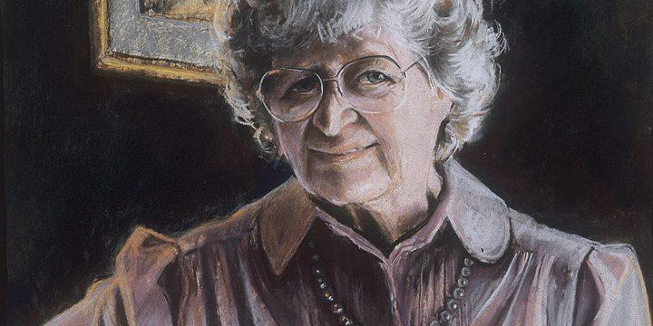 Marilyn Blechner, Phyllis, pastel, 1987